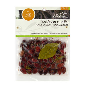 Kalamon Olives with mixed herbs, 250gr
